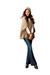 skinny flare Ana jeans - scoopneck Ana sweater - Ana cape