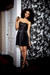 black sequin As U Wish dress