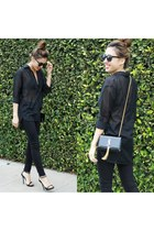 Mia and Moss jeans - Yves Saint Laurent bag - Bakers heels