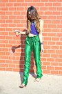Green-asha-mia-pants-crop-top-nasty-gal-top-oia-jules-necklace