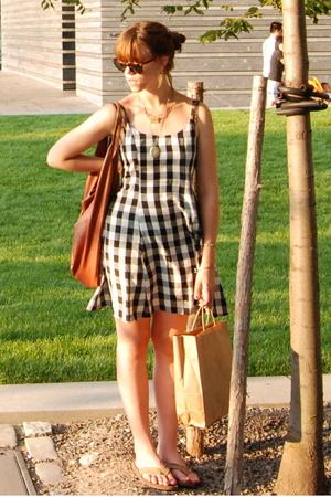 Limited Too dress - purse - Ray Ban sunglasses