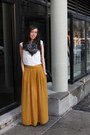 Michael-kors-scarf-h-m-top-topshop-skirt