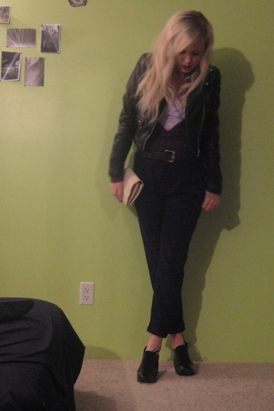 hm jacket - hm pants - payless shoes