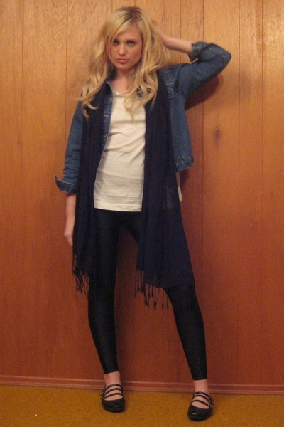 vintage jacket - Aldo shoes