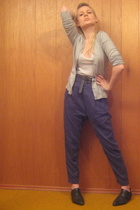 Zara pants - H&M sweater - vintage shoes - vintage from Search & Destroy belt