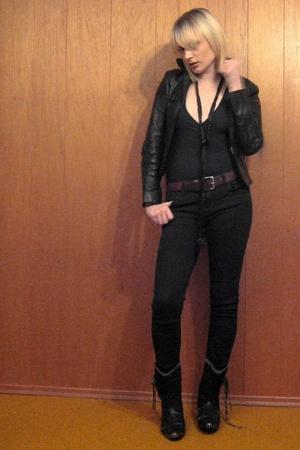vintage shoes - aa intimate - vintage jacket