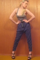 Zara pants - American Apparel top - Old Navy shoes