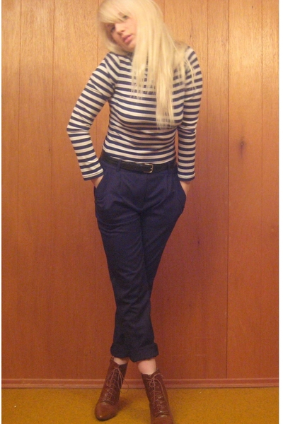 forever 21 shirt - H&M pants - H&M boots
