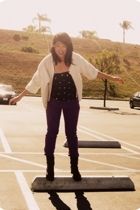 Wetseal jeans - nicole miller top - made by mom coat - Mudd boots