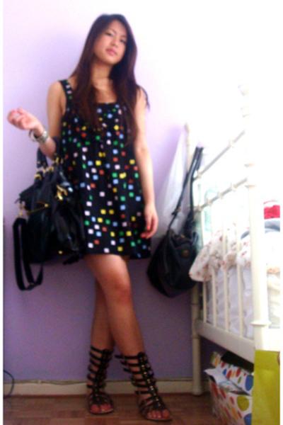 sass&bide dress - Zoe Wittner shoes - purse