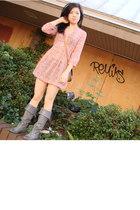 H & M blouse - Frye boots - Dooney & Bourke Vintage purse