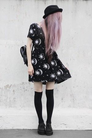 sun moon stars Motel Rocks dress