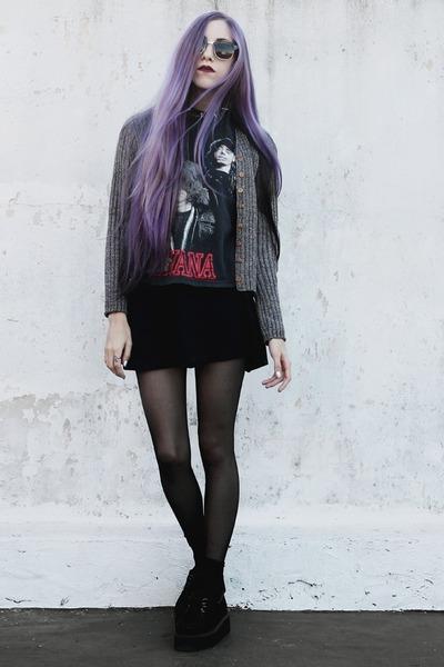black nirvana old shirt