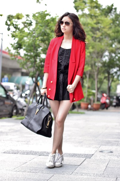 red Vieso blazer