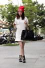 White-zara-dress
