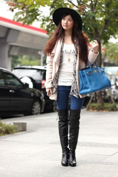 boots - jacket