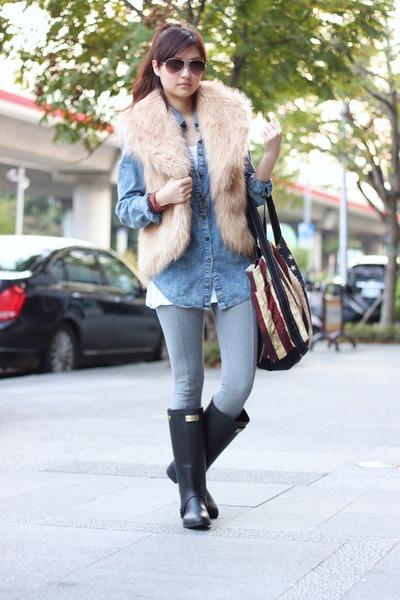 vest - leggings