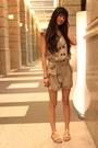 Tawny-bag-gold-sandals-white-sandals-dark-khaki-romper