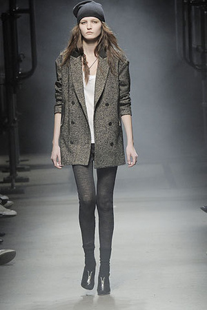 Alexander Wang blazer - Alexander Wang tights - Alexander Wang hat - Alexander W