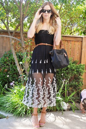 Gypsy Junkies dress - Old Navy bag - Dolce and Gabbana sunglasses