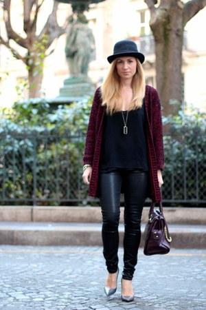 asoscom jacket - asos jeans - pieces bag - Zara heels