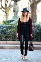 La mode en Black & Bordeaux, again!