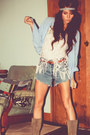 Camel-beltedstudded-canyon-river-blues-boots-high-waisted-levi-shorts
