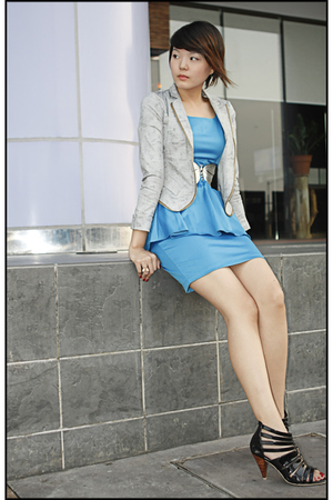 Excellence in Fashion blazer - Dorothy Perkins dress - Pill footwear shoes - Exc