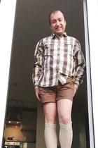 John Lewis jacket - Burtons shoes - Marks & Spencer shirt - asos shorts