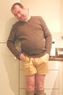 Trait-supply-shirt-asos-shorts-khaki-knitted-cant-remember-socks