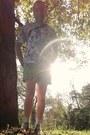 Asos-shorts-american-apparel-socks-leaf-print-next-t-shirt