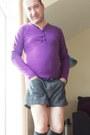 Vintage-black-andrew-christian-shorts-forever21-socks-jeansian-t-shirt