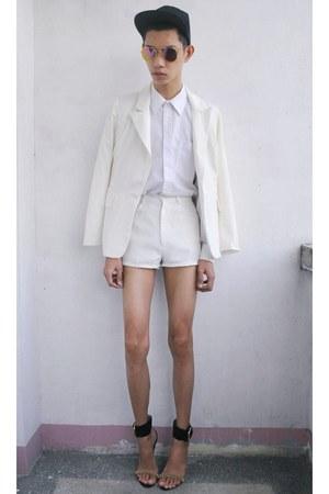 white Tootal shirt