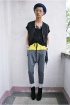 F&H accessories - Soule Phenomenon boots - Spring pants - Gold Dot necklace