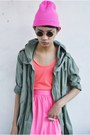 Hot-pink-its-all-about-hue-skirt-hot-pink-rebel-gear-accessories