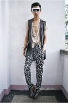 spenser sunglasses - Gold Dot wedges - from Korea vest