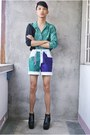 Black-asianvogue-shop-boots-teal-mysecondhand-shop-shirt-purple-diy-shorts