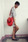 Blue-urban-outfitters-shoes-off-white-vinatge-jacket-red-marc-ecko-bag-whi