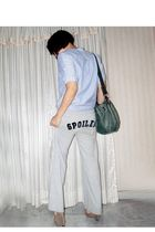 silver Spoiled pants