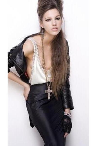 blouse - accessories - jacket - pants