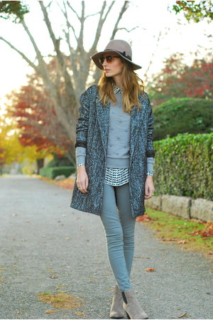 heather gray ankle boots Sole Society boots
