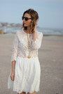 Brown-ankle-boots-jcrew-boots-white-embroidered-dolce-vita-dress