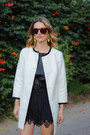 White-collarless-talbots-coat-black-silk-gypsy05-shorts