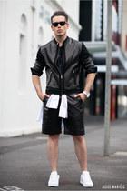 black SAXONY blazer