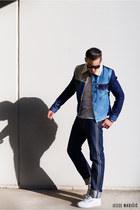 blue blue Levis jacket