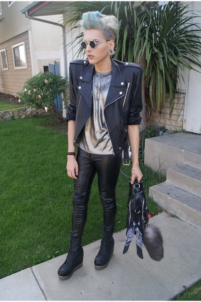 leather jeffrey cambell boots