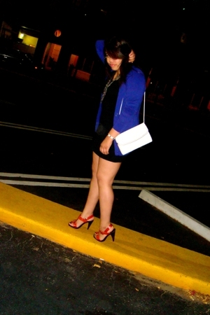 forever 21 sweater - dress - purse - Luichiny shoes