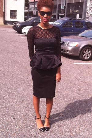 DIY blouse - Forever 21 skirt