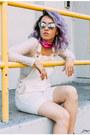 Silver-zerouv-sunglasses-white-topshop-romper