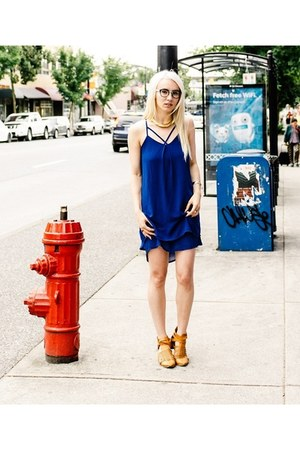 blue Wal-G London dress